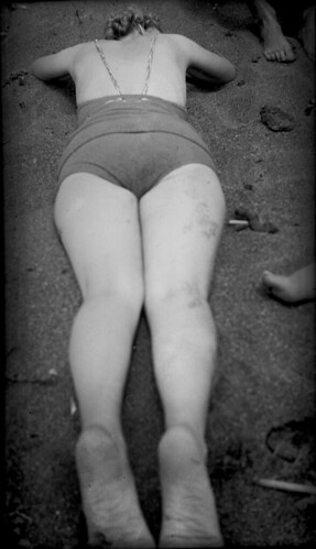 At the beach - Book of Prints with Negatives