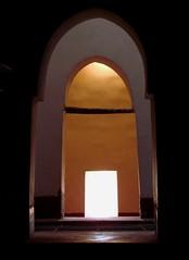 rectangular light in a Moorish room (daniel.virella) Tags: castle palace morroco marruecos marroc ksar marrocos المغرب ouazarzate grandsud ورزازات