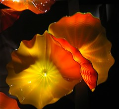 delicate (enough for Explore!) (ArtsySFMarjie) Tags: red chihuly art glass museum flickr exhibit explore deyoung blown