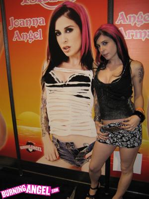 Pornstar Joanna Angel fuck