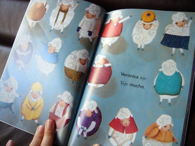 """""""Cuando Verónica teje"""" by Valeria Cis"""