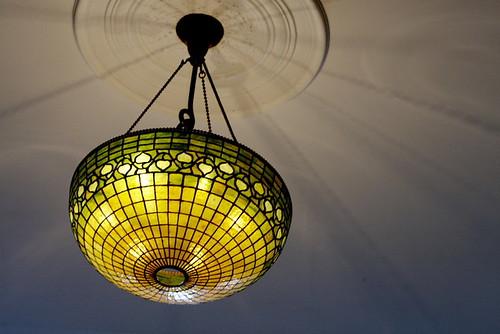 異人館の灯り