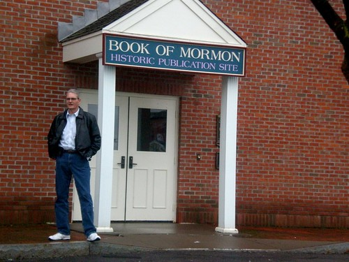 Don at the Book of Mormon Publication Site