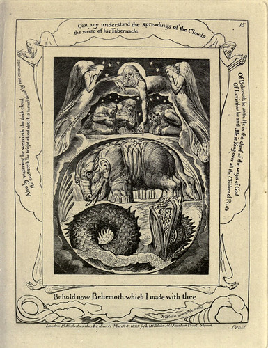 002-El libro de Job-William Blake 1825