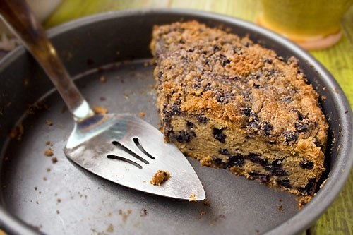 Gluten-Free Blueberry Crumb Cake