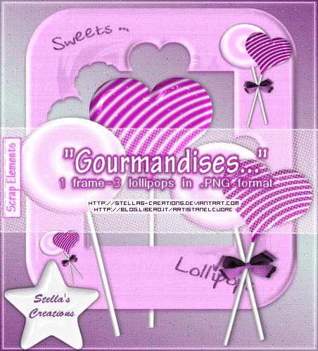 Gourmandises - © Blog Stella's Creations: http://sc-artistanelcuore.blogspot.com