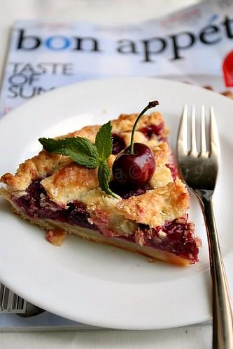 Classic Sour Cherry Pie with Lattice Crust