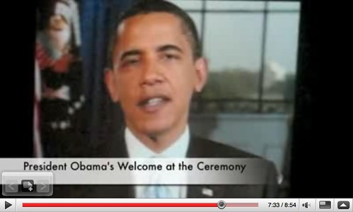 YouTube - Rey's Citizenship Address & Barack Obama's Welcome