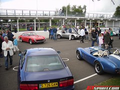 BMW 840CI & Ferrari 250 GT Lusso (daveoflogic) Tags: car breakfast club sunday super ferrari bmw gt supercar goodwood 250 lusso gtspirit 840ci ferrari250gtlusso bmw840ci