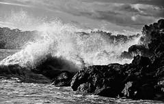 Smashing Waves (Steve A Roo) Tags: costarica manuelantonionationalpark smashingwaves
