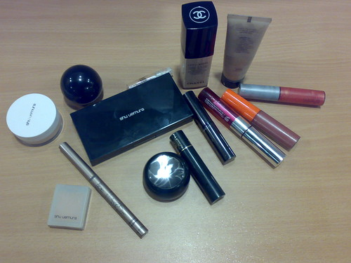 Inside my makeup kit