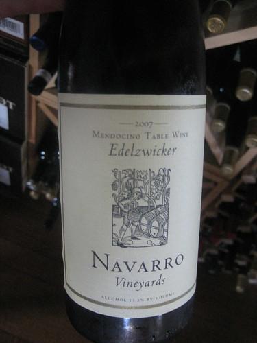 2007 Navarro Edelzwicker
