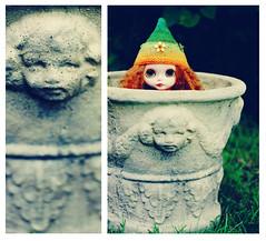 Peek Diptych - 3/365 - dolly diptych 3/52