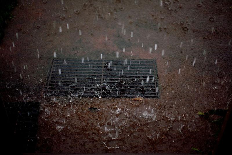 Rain, The Farm