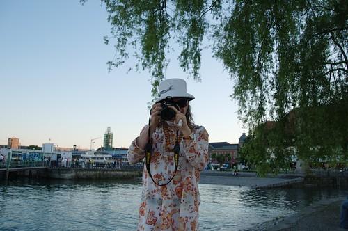 Farah als Fotografin