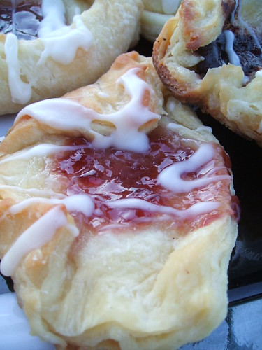 strawberry danish