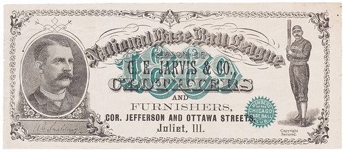Baseball Note front