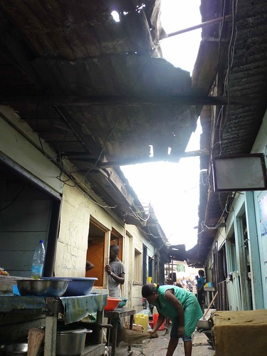 Conditions in Sandaga Market