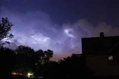 Heat lightning (Micah Taylor) Tags: summer storm minnesota night minneapolis heat lightning electrical