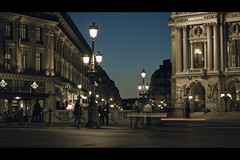 Night Scene III (- Loomax -) Tags: city urban paris night lights opera scene cinematic selecta12o