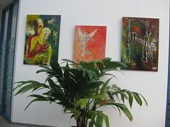 """Ausstellung, Trispel, Celle (Joachim Weigt) Tags: water painting acrylic canvas oil joachim acky acryl öl gemälde ölgemälde weigt acrylbilder ölbilder acrylgemälde """"joachim weigt"""""""