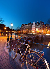 l'heure bleu (Jinna van Ringen) Tags: longexposure amsterdam bike bicycle night photography evening canal ringen slowshutter elusive van keizersgracht gracht leidsegracht jorinde jinna elusivephoto elusivephotography jorindevanringen jinnavanringen