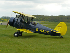 G-AAOK (QSY on-route) Tags: kemble egbp gvfwe gaaok greatvintageflyingweekend 09052010