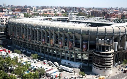 Estadio Santiago Bérnabeu (Mayo 2010)