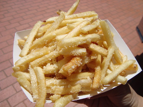 Truffle Fries @ Komodo Truck