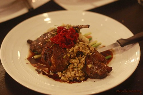 lamb rack at buenisimo by cafe ysabel, eastwood
