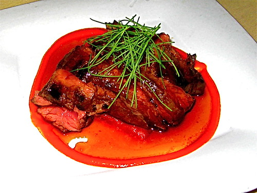 Bazaar hanger steak