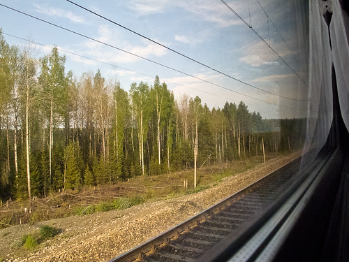 A night on the Trans Siberian
