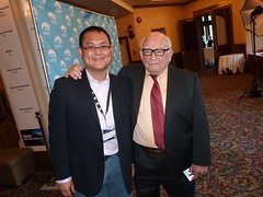 Me with Ed Asner, TV & film industries legend