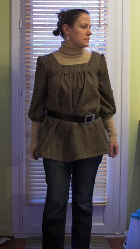 blouse portée