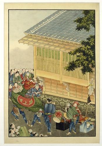 006- Musicos y danzantes de Kagura