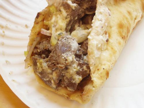 Lamb Pita @ Kwik Meal