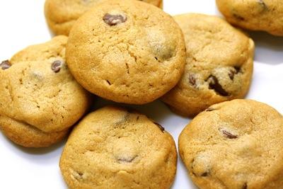 chunky peanut, chocolate, cinnamon cookies
