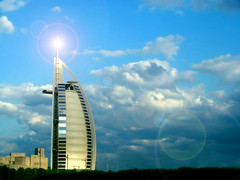 Grandiose (F. C. Photography) Tags: money star hotel architechture dubai uae 7 structure burjalarab flare luxury 7star jumeirah worldsbest tomwright dubaicoastline iconicstructure standsonanartificialisland billowingsail