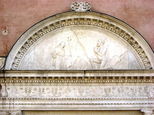 San Giobbe relief
