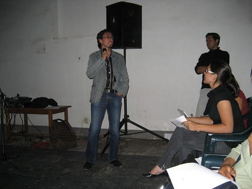 Alvaro Guzman y Marcelo Lazarte