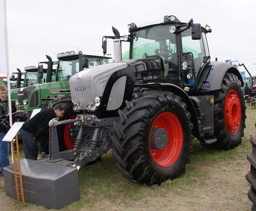 Ciągniki rolnicze FENDT, targi rolnicze AGROSHOW 2008