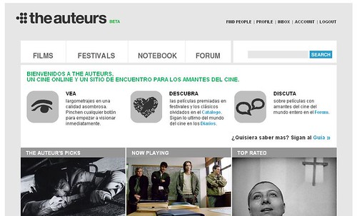 the auteurs web