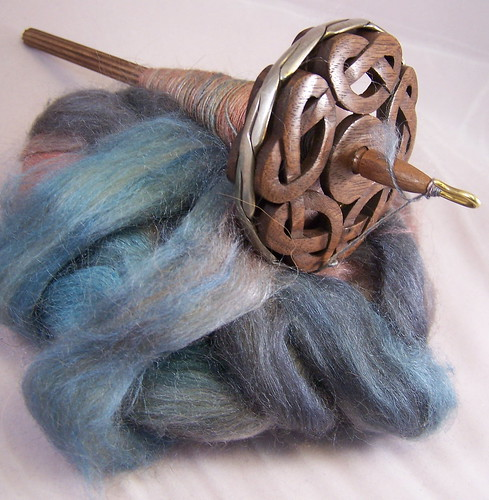 Spindle spinning progress