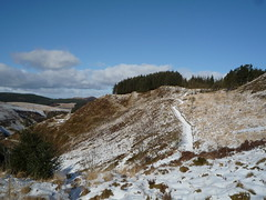 P1030043 (_asv_) Tags: snow ice yr arian nant nantyrarian ponterwyd