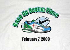 Race up Boston Place 2009
