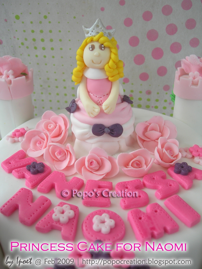 Princess Cake for Naomi