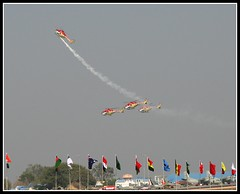 Aero India - Sarang Helicopter Display Team