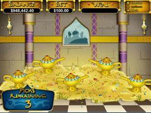 Aladdin's Wishes bonus free spin