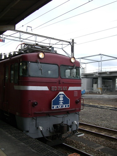 "ED76寝台特急富士/ED 76 electric locomotive Limited Express ""Fuji"""
