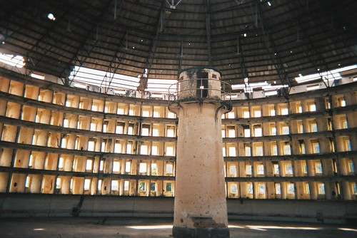 The Presidio Modelo was a model prison of Panopticon design by you.